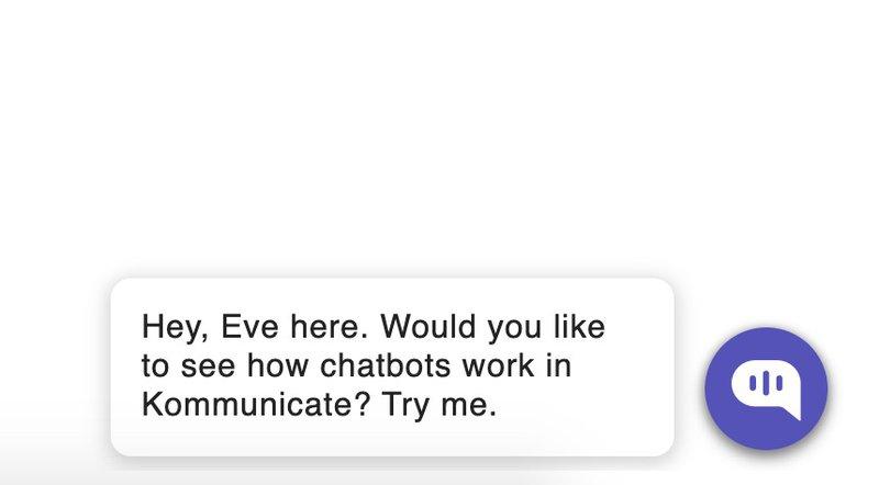 Kommunikate Chatbot