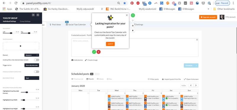 tooltip userpilot contextual onboarding SaaS